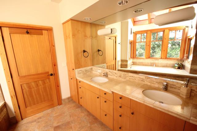 Bathroom shower tub - Menlo Park Master Bath